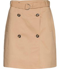 pico skirt kort kjol beige second female