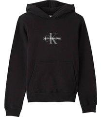 hoodie glitter zwart