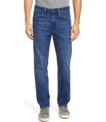 men's 34 heritage charisma slim straight leg jeans, size 42 x 34 - blue