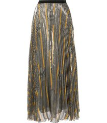 giambattista valli all-over print skirt - black