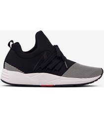 sneakers raven mesh s-e15 black white