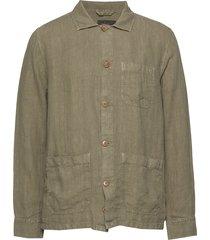 ethan lt shirt jacket skjorta casual grön morris