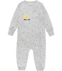 pijama enterizo gris  offcorss