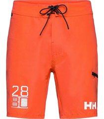hp board shorts 9'''' surfshorts orange helly hansen