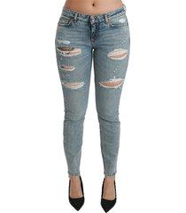 stretch skinny low waist jeans