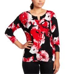 joseph a floral-print cardigan