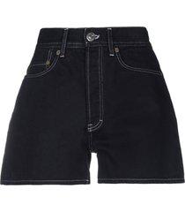 acne studios denim shorts