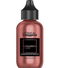 coloração temporária l'oréal professionnel colorful hair flash pro hair make-up cor dancing pink