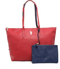bolso rojo us polo assn