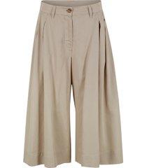 pantaloni culotte larghi in tencel™ lyocell (beige) - bpc bonprix collection