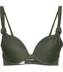 luxe pp push bikinitop grön hunkemöller