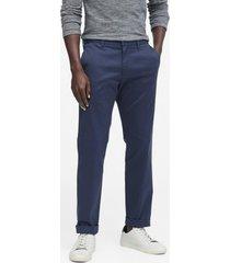 pantalón aiden slim fit azul banana republic