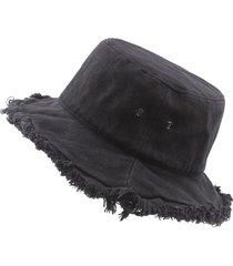 cappellino pieghevole per cappellino da sole grande cappello estivo da pescatore monocromatico pescatore da donna primavera estate unisex