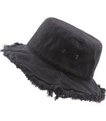 cappello da pescatore pieghevole per cappelli da pescatore da pescatore monocromatico primavera estate cappello da pescatore monocromatico primavera estate