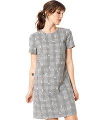 vestido gris zulas celeno