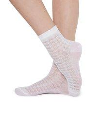 calzedonia - glittery socks, one size, white, women