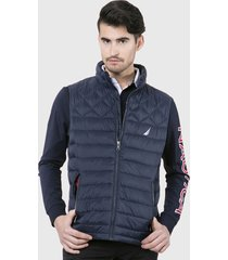 parka nautica azul - calce regular