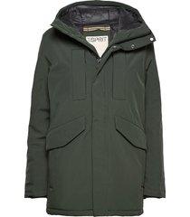 jackets outdoor woven parka jacka grön esprit casual