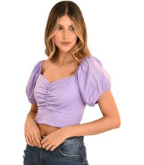 blusa bali popelin violeta ragged pf11112229