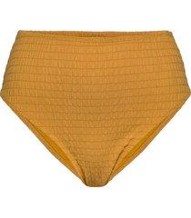 goldenrod hw high leg bikinitrosa gul hunkemöller