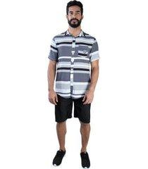 camisa new era manga curta nfl oakland raiders color stripe full masculina