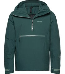 stranda ins hybrid anorak outerwear sport jackets groen bergans