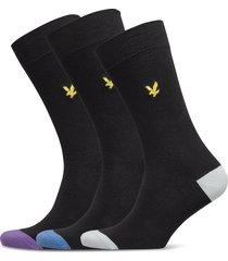 kennedy underwear socks regular socks svart lyle & scott