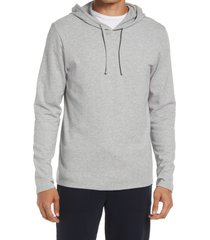men's vince pullover hoodie, size xx-large - grey