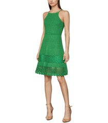 bcbgmaxazria knit fit & flare dress
