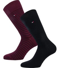 mens small stripe 2 pack socks