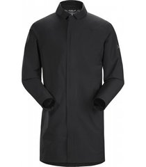 arc'teryx jas men keppel trench coat black ii-s