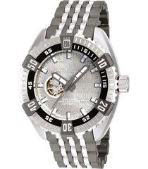 reloj invicta modelo 15885_out acero, gunmetal hombre