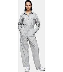 *gray check peg pants by topshop boutique - grey