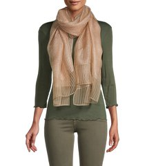 saachi women's silk chiffon social wrap scarf - champagne