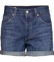 501 short long sansome drifter shorts denim shorts blå levi´s women