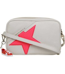golden goose star bag shoulder bag in grained leather