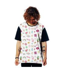 camiseta elephunk estampada patches tumblr