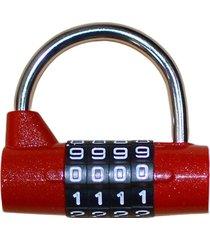 candado de combinación reajustable maleta metálica pasdigit lock