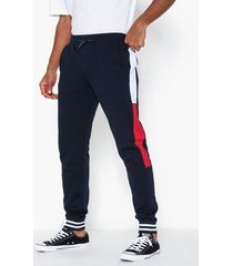 tommy hilfiger colorblocked sweatpants byxor desert