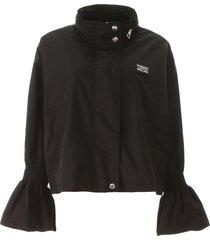burberry nylon rainproof jacket