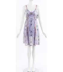 mary katrantzou magnolia lace tank dress