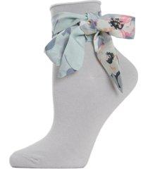 bonny ribbon women's anklet socks
