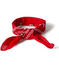 mens red paisley bandana*