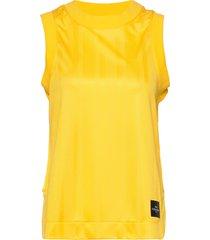 w tech cropped tank t-shirts & tops sleeveless gul peak performance