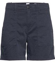 utility khaki short shorts chino shorts blå gap