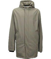 heren winter jas met hoodie