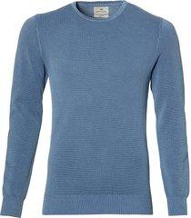 hensen pullover- slim fit - blauw