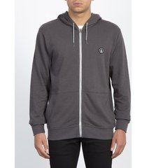 sweater volcom men's litewarp zip hoodie