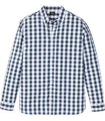 långärmad skjorta med bekvämt snitt