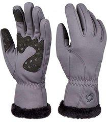 guantes ain wap gris doite